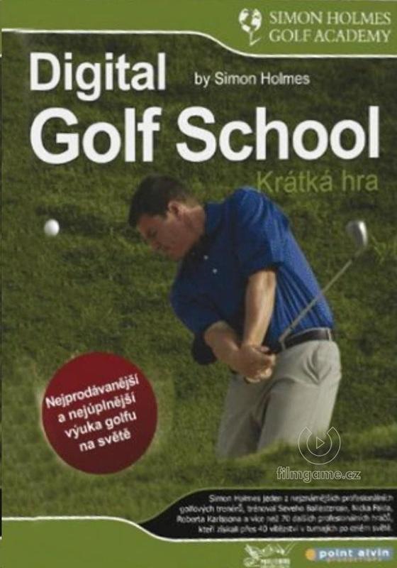 DVD Digitální škola golfu, krátká hra