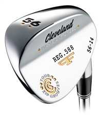 Cleveland Forged 588 Chrome wedge, pravá, 60°-12°