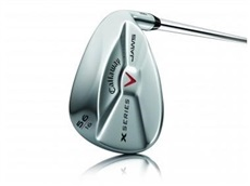 Callaway X-Series Jaws Chrome wedge, grafit, levá, 60°, 13°