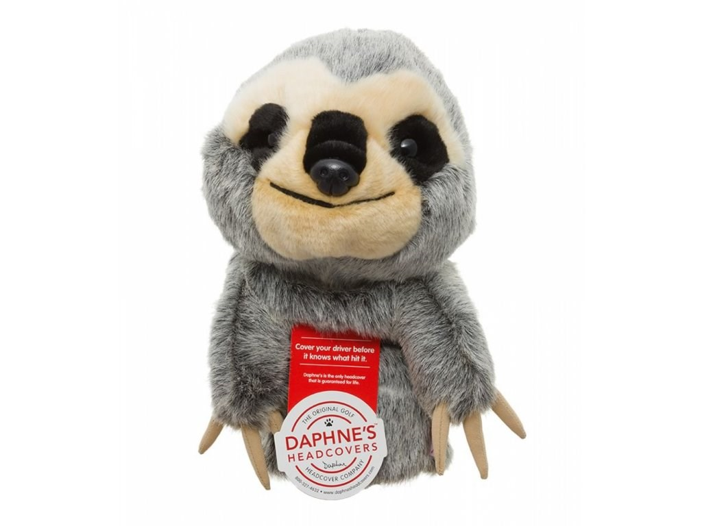 Daphne's Sloth driver headcover, lenochod