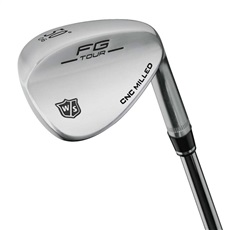 Wilson Staff FG Tour Round Sole Satin wedge, ocel