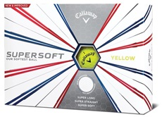 Callaway Supersoft Yellow 2019 golfové míče