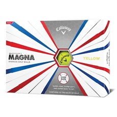 Callaway Supersoft Magna Yellow golfové míče