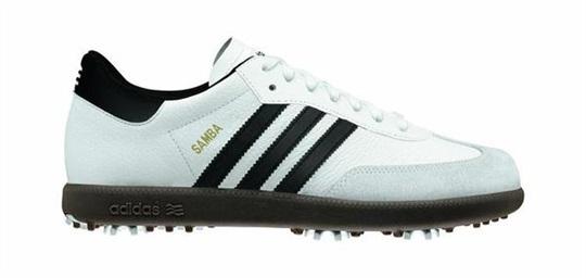 Adidas Samba Golf pánské boty, bílé | Golf pro všechny.cz