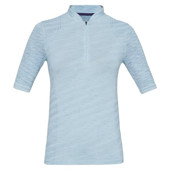 Under Armour Semaless Zip Polo dámské triko