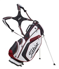Titleist 14-Way Lightweight stand bag 13, černo/bílo/červený