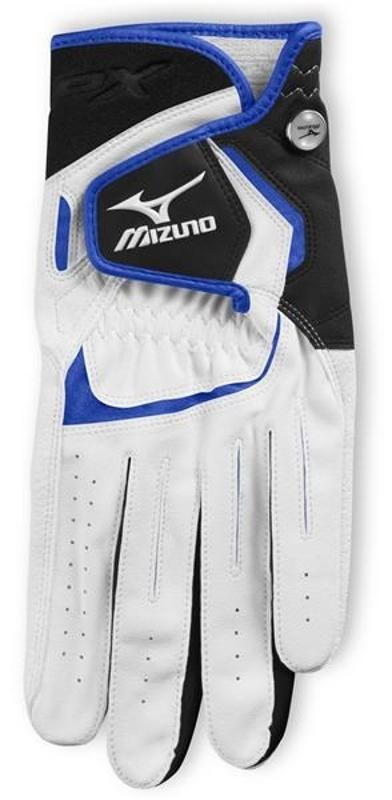 Mizuno JPX pánská rukavice, bílo/modrá pravá (pro leváky), M