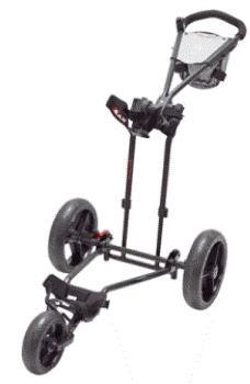 Big Max TI1000 dětský golfový vozík, 3-kolový, černý