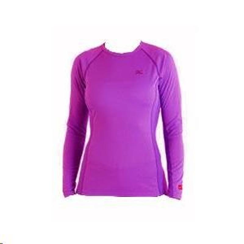 Mizuno Breath dámské thermo tričko, fialové dámské, XS