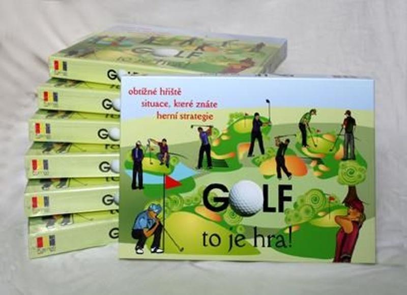 Společenská hra Golf to je hra!
