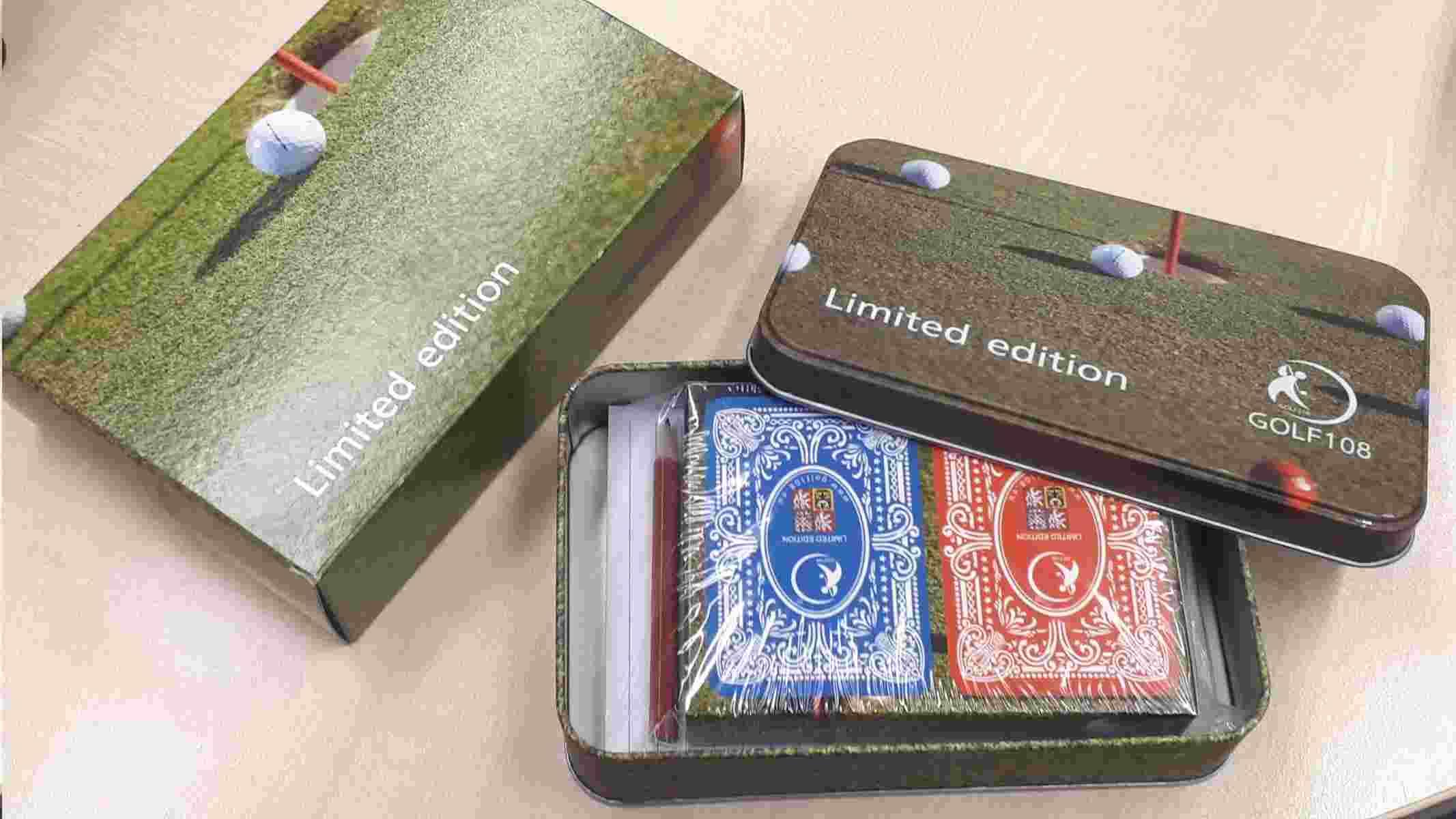 Golfové hrací karty pro Canastu, edice Retro