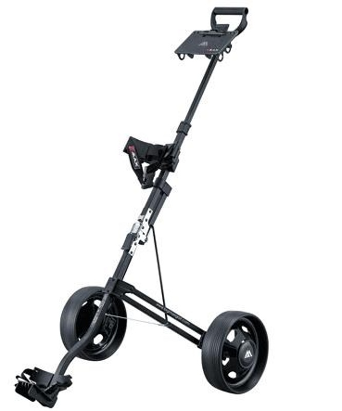 Big Max Stow a Mini golfový vozík, 2-kolový, černý