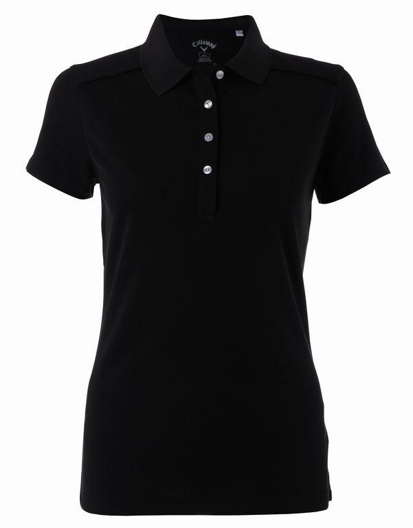 Callaway Opti-Dri dámské golfové polo, černé dámské, M