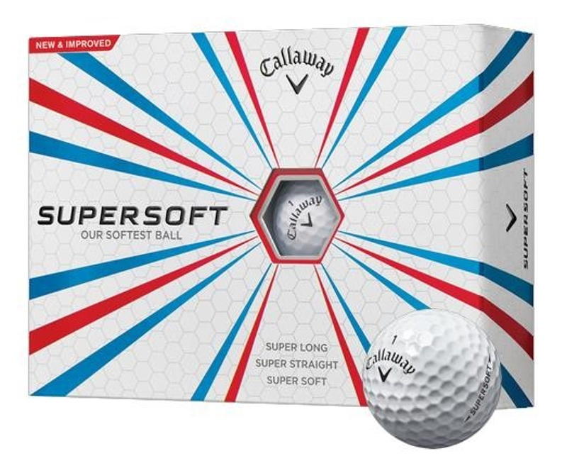Callaway Supersoft golfové míčky