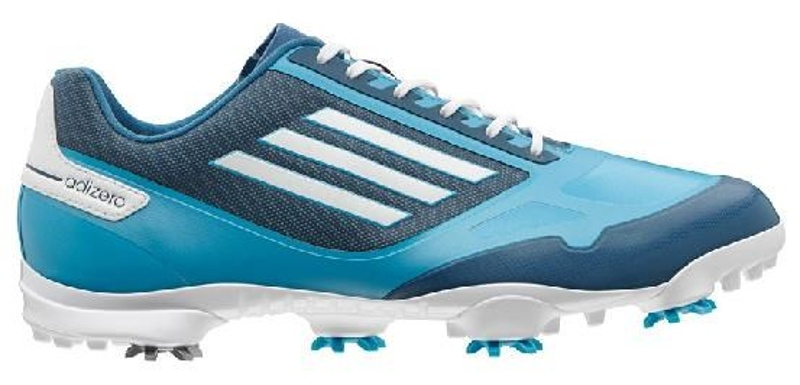 Adidas adizero One pánské boty, šedo/bílo/modré bílá, rozšířená, 11