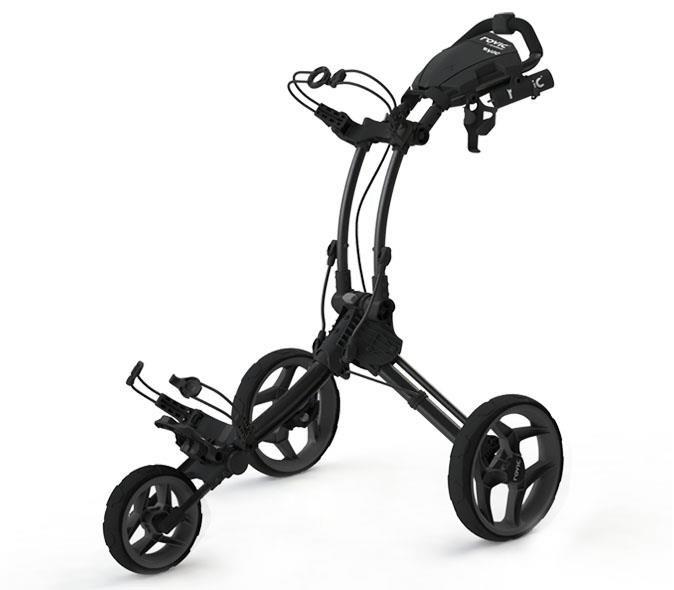 Clicgear Rovic RV1C golfový vozík, šedý/černá kola