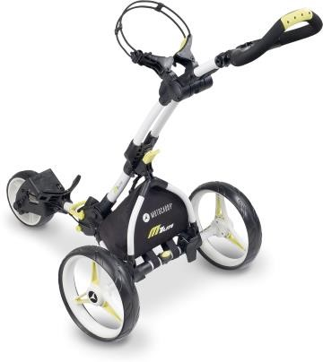 Motocaddy M1 Lite golfový vozík, bílý