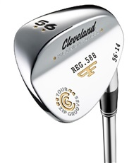 Cleveland 588 Forged Chrome wedge 2014, RH, 56-10