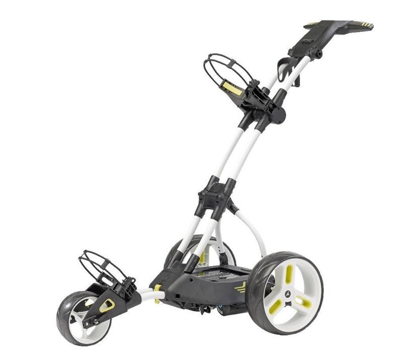 Motocaddy M3 PRO elektrický golfový vozík, bílý bílá, bez baterie