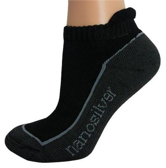 aece3437acc Nanosilver kotníkové ponožky s obsahem stříbra