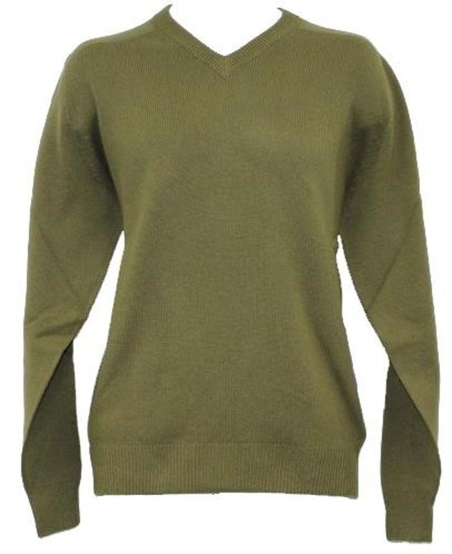 Ashworth V-Neck Merino pánský svetr, zelený pánské, L