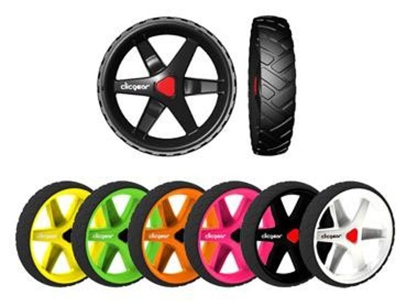 Clicgear Wheel Kit náhradní kolečka, 3 ks bílá