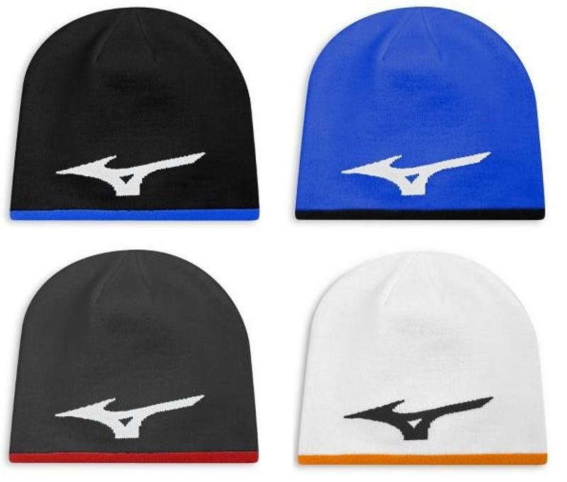 Mizuno 360 Beanie zimní čepice, více barev pánské, zimní, univerzální, bílá