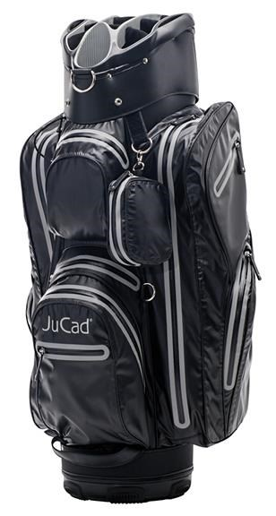 JuCad Aquastop cart bag, černo/titanový