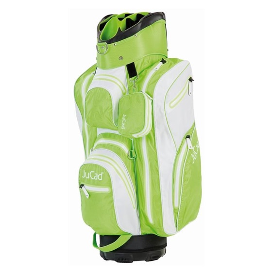 JuCad Aquastop cart bag, bílo/zelený