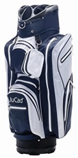 JuCad Aquastop cart bag, bílo/modrý