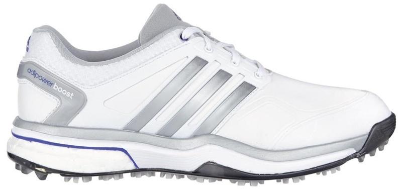 Adidas W adipower boost dámské boty, bílo/šedo/fialové, UK 4, EU 36.5 standardní, bílá, 4