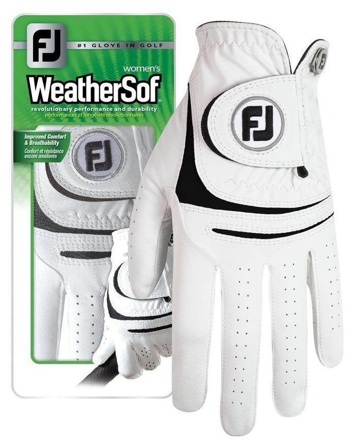 FootJoy WeatherSof dámská rukavice + markovátko pravá (pro leváky), L