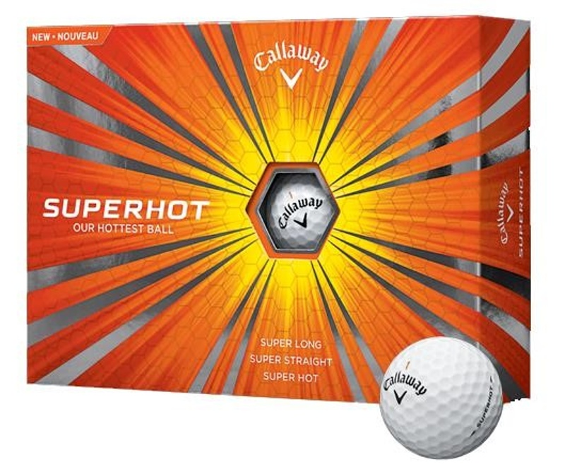 Callaway Superhot golfové míčky