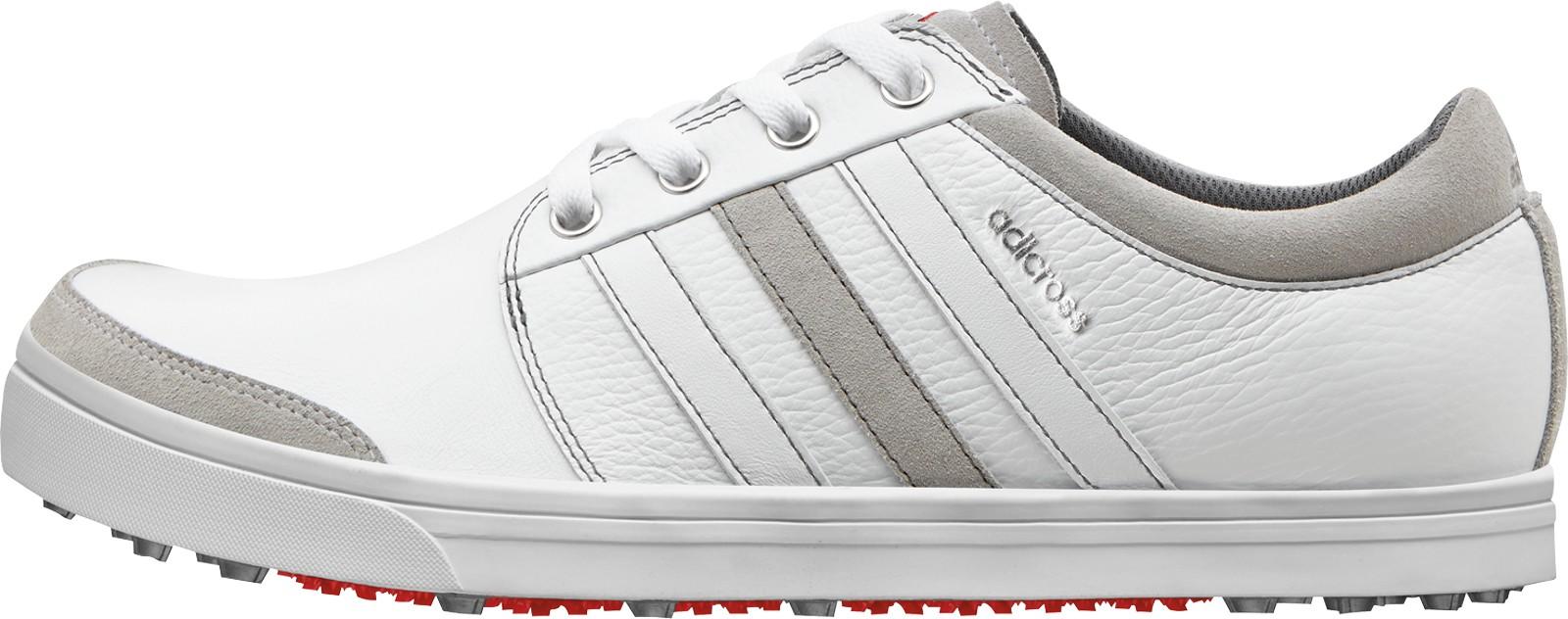 Adidas adicross gripmore pánské boty, bílo/šedé standardní, bílá, 7