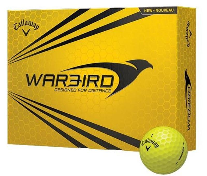 Callaway Warbird Yellow golfové míčky