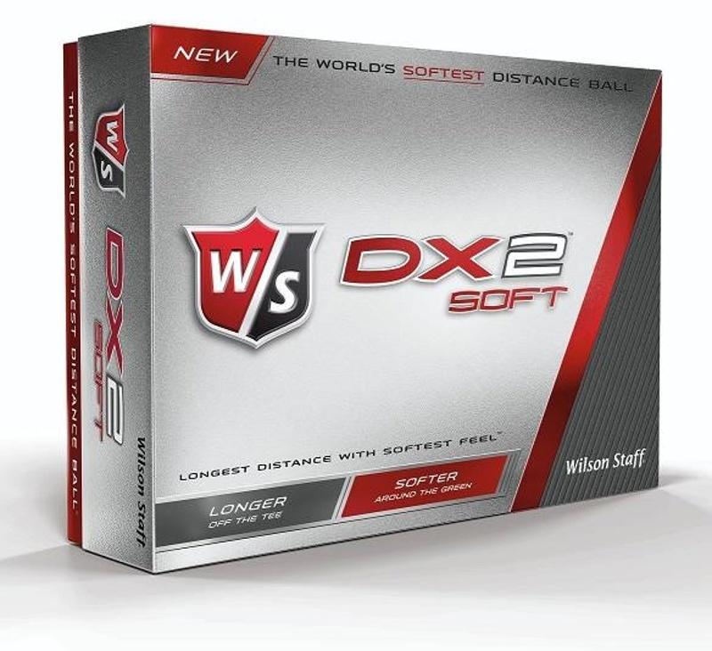 Wilson Staff DX2 Soft golfové míčky