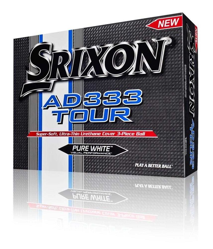 Srixon AD333 Tour Pure White golfové míčky