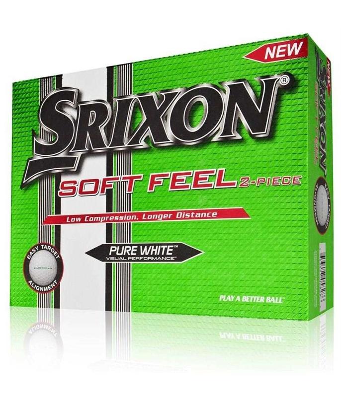 Srixon Soft Feel Pure White golfové míčky