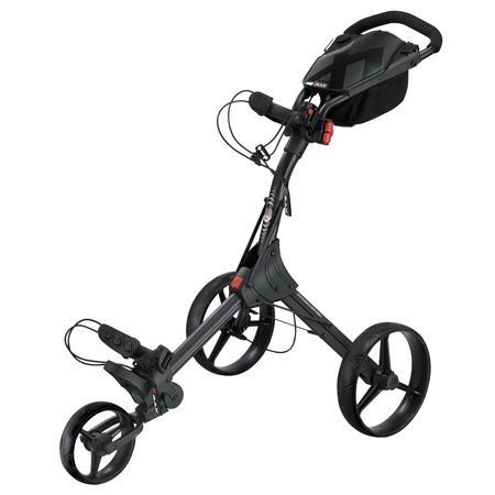Big Max IQ+ golfový vozík, 3-kolový, černý