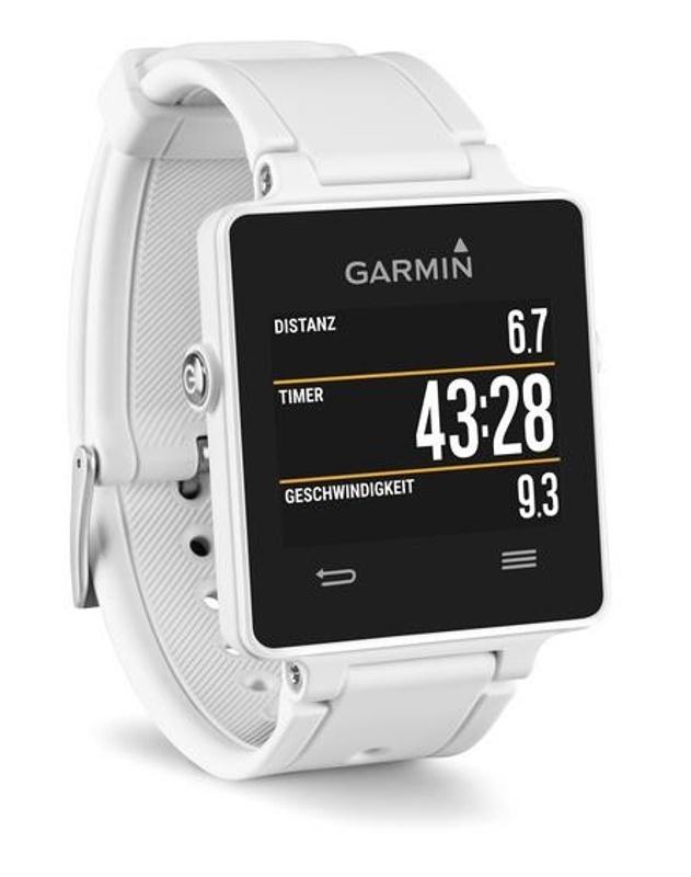 Garmin vívoactive White GPS hodinky, bílé