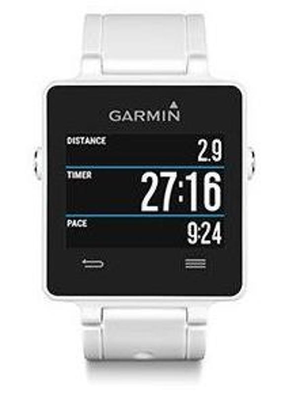 Garmin vívoactive White HR Premium GPS hodinky, bílé