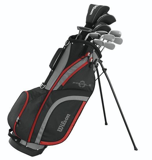 Wilson Profile XLS pánský golfový set, ocel, LH