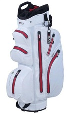 Big Max Aqua I-Dry M cart bag, bílo/červený