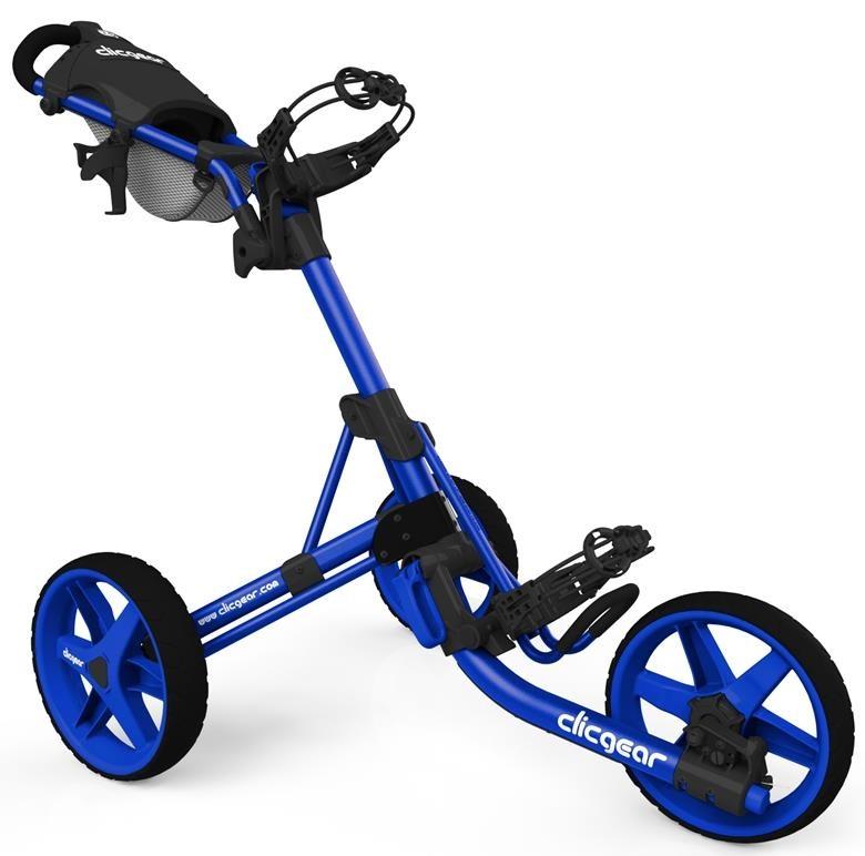 Clicgear 3.5+ golfový vozík, 3-kolový, modrý
