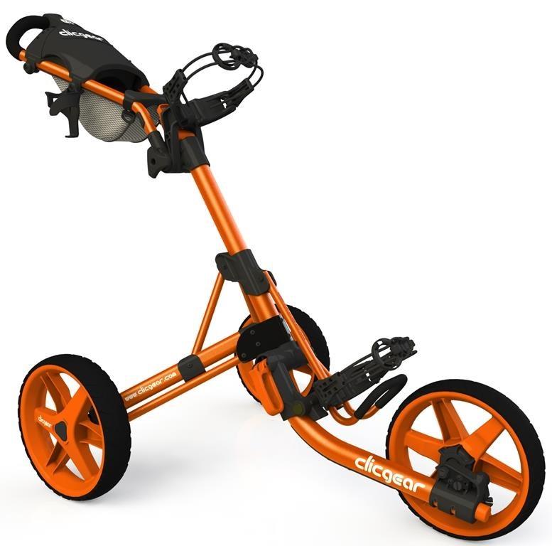 Clicgear 3.5+ golfový vozík, 3-kolový, oranžový