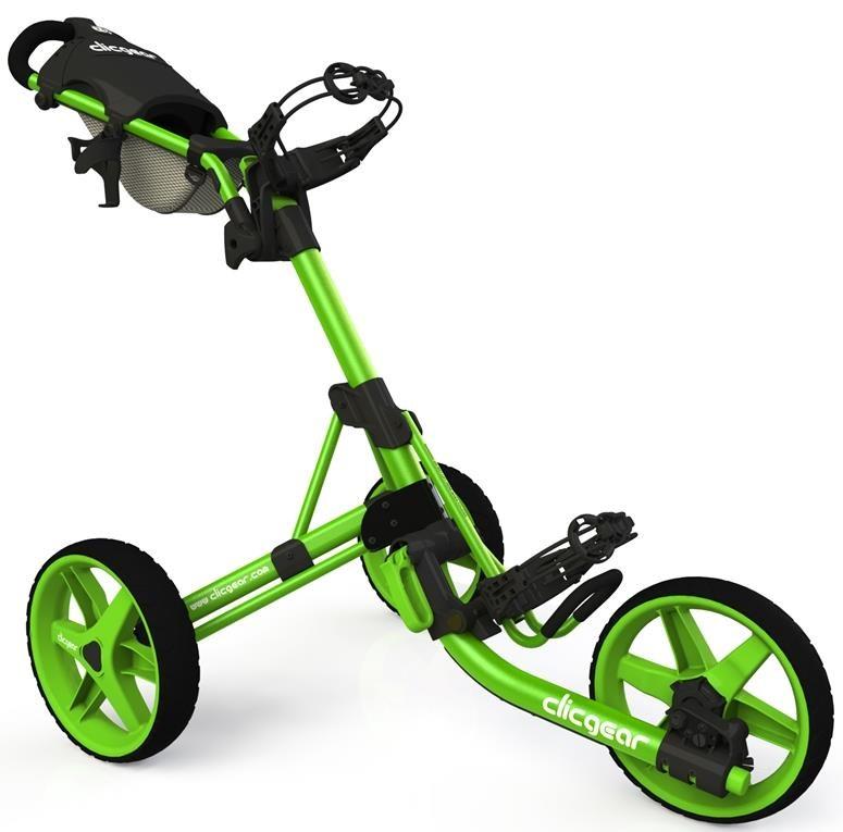Clicgear 3.5+ golfový vozík, 3-kolový, zelený