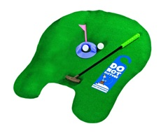 Longridge Potty Putter Golf Trainer