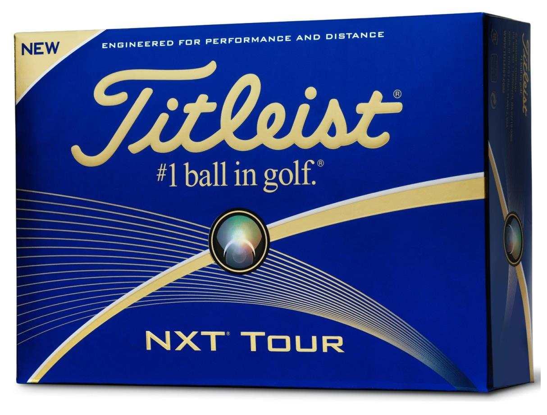 Titleist NXT Tour golfové míčky