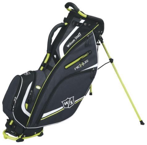 Wilson Nexus II stand bag, černo/zelený