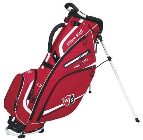 Wilson Staff Nexus II stand bag, červený